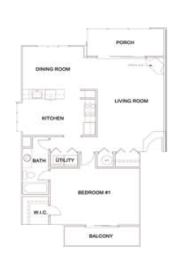Floorplans - Apartments for Rent in Norcross, GA - Las Palmas Apartments